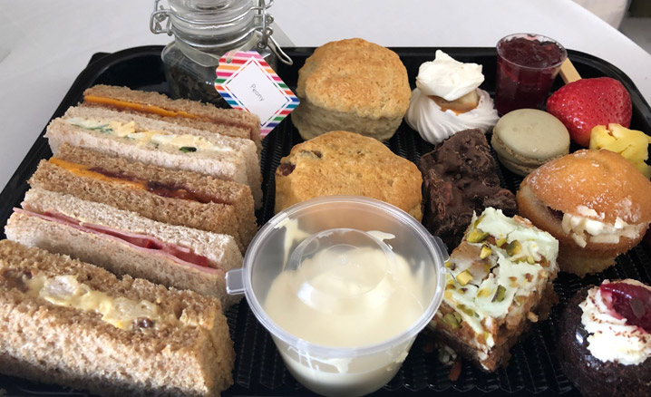 Afternoon Teas in Rugby to Takeaway
