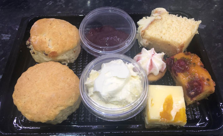 Takeaway Cream Teas in Rugby