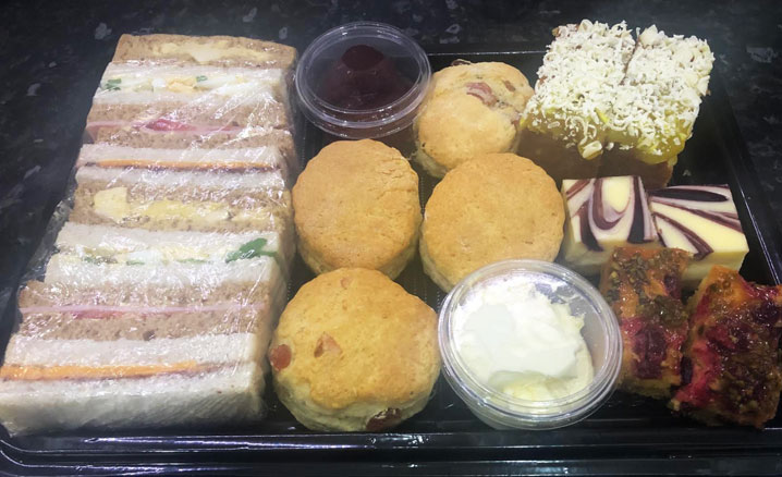 Afternoon Teas in Rugby Takeaway Delivery