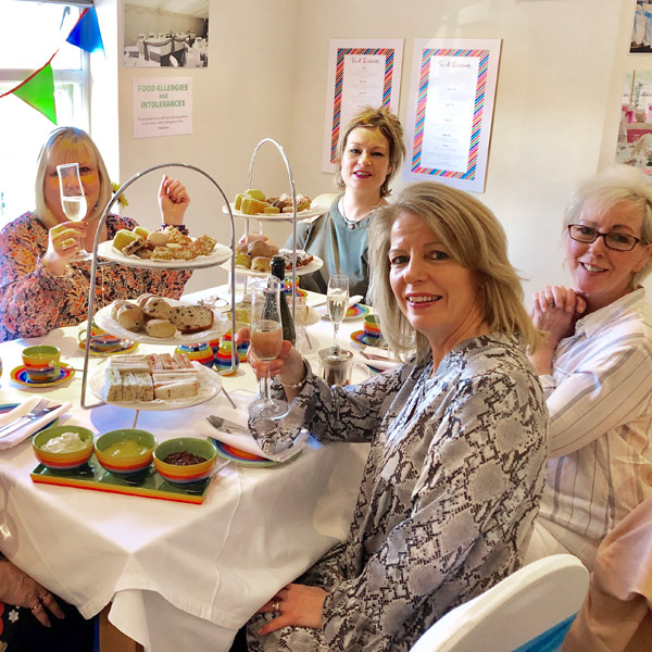 Takeaway Afternoon tea in Rugby