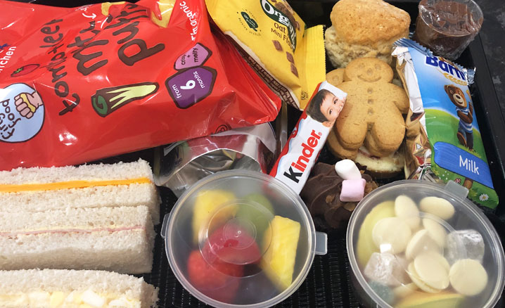 Takeaway Childrens Afternoon Tea in Rugby